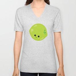 Kawaii Fruit Kawaii Lime Cute Cartoon Fruit Unisex V-Neck