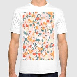 Italian terrazzo IV #pattern #art print T-shirt