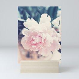 Beautiful Peony Flower Art Mini Art Print