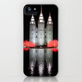 LDS Temple Square - Salt Lake City, Utah iPhone Case