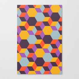 Colmena 32 Canvas Print