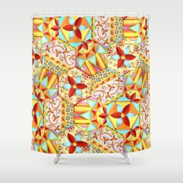Gypsy Caravan Candy Blossom Shower Curtain