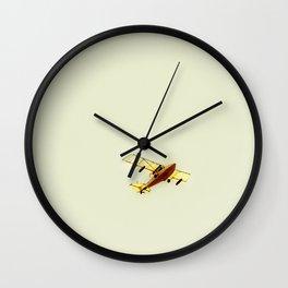 Monoplane Wall Clock