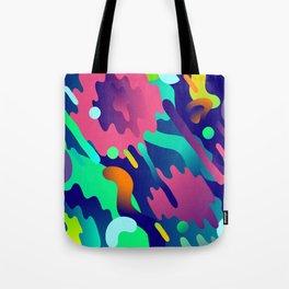 Splash Pattern Tote Bag