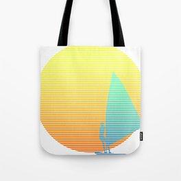 Summer Windsurfer Tote Bag