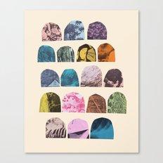 EIGHTEEN GRAVES Canvas Print