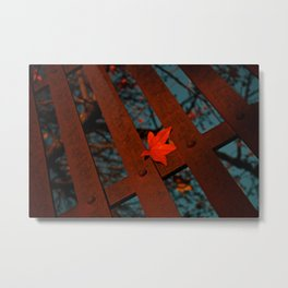 Here and There Metal Print