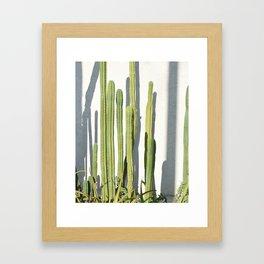 cali cacti Framed Art Print