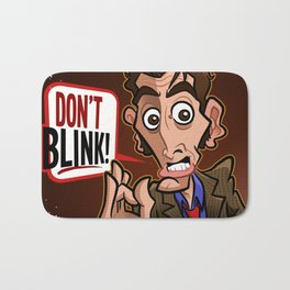 Don't Blink Bath Mat