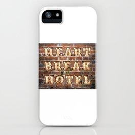 HeartBreak Hotel - Brick iPhone Case
