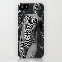 Hypnotized iPhone Case