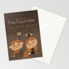 welcome to camp crystal lake Stationery Cards