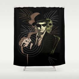 G-Man on Holiday Shower Curtain