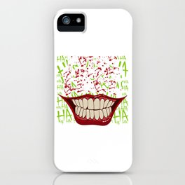 """""""Put On A Happy Face"""" Halloween Shirt For October 31st T-shirt Design Spooky Creepy Halloween Scary iPhone Case"""
