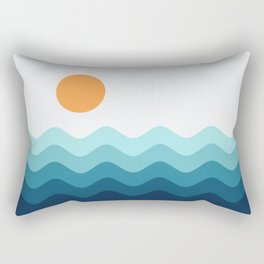 Abstract Landscape 14 Rectangular Pillow