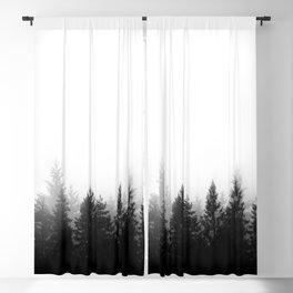 Scandinavian Forest Blackout Curtain