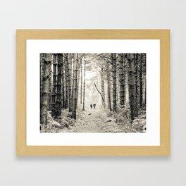 Forest Walk II Framed Art Print