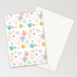 Flower Burst Stationery Cards