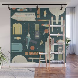 To Boldly Go... Wall Mural