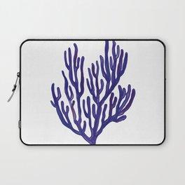Blue Sea Coral  Illustration Laptop Sleeve