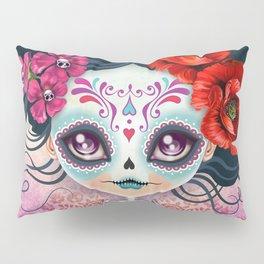 Amelia Calavera - Sugar Skull Pillow Sham