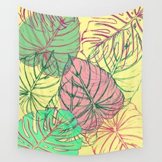Jungle Leaves Wall Tapestry