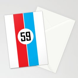 Brumos Racing Stripes Stationery Cards