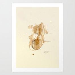 #coffeemonsters 287 Art Print