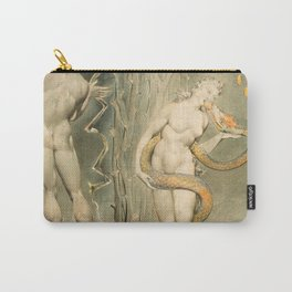 """William Blake """"The Temptation and Fall of Eve (Illustration to Milton's 'Paradise Lost')"""" Carry-All Pouch"""