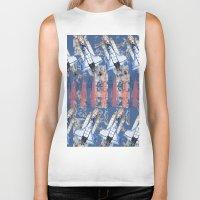 rocket Biker Tanks featuring Rocket by AnnaW