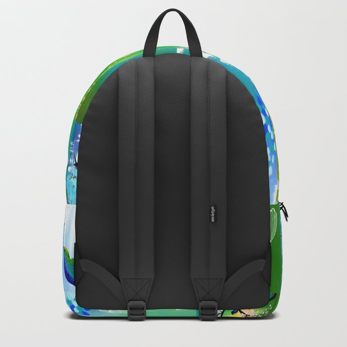 Green designs Backpack