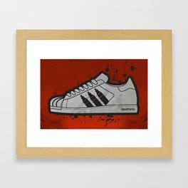 Aesthetix 3 Pens Superstar Framed Art Print