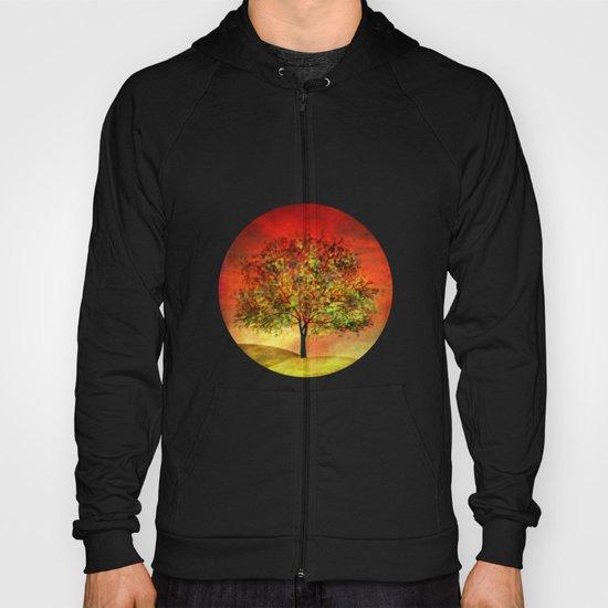 Tree at Sunset Hoody