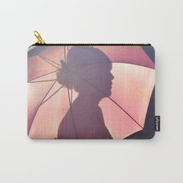 Female Silhouette Carry-All Pouch