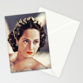 Merle Oberon, Actress Stationery Cards