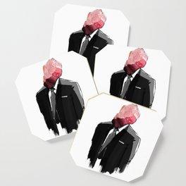 Char Siu Head (roast pork in suit) Coaster