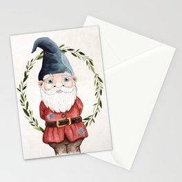 Male Gnome Stationery Cards