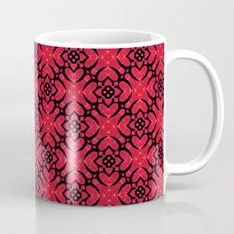Square heart floral Coffee Mug
