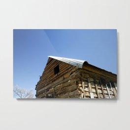 Old Wood Home Metal Print