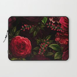 Mystical Night Roses Laptop Sleeve