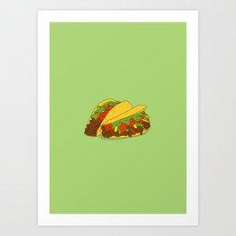Let's Taco Bout it Art Print