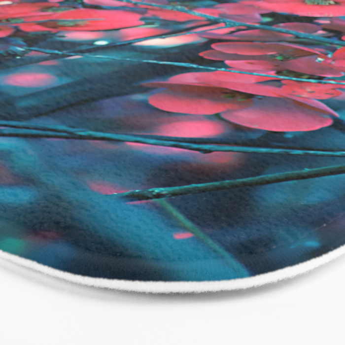 Floral abstract(61) Bath Mat
