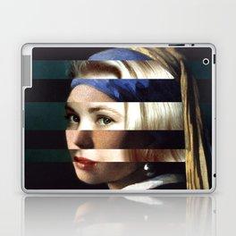 "Vermeer's ""Girl with a Pearl Earring"" & Grace Kelly Laptop & iPad Skin"