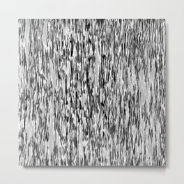 Camo in Shades of Gray Metal Print