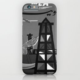 retro old MEA Kuwait poster iPhone Case
