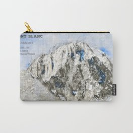 Mont Blanc, France / Italy Carry-All Pouch