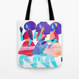 Trio of Graces Tote Bag