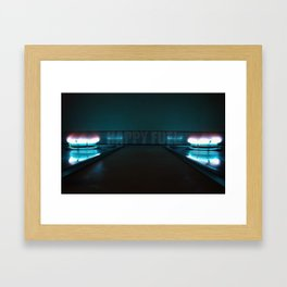Happy fuel Framed Art Print