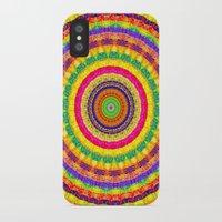 batik iPhone & iPod Cases featuring Batik Bullseye by Peter Gross
