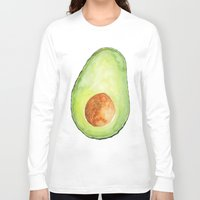 avocado Long Sleeve T-shirts featuring Avocado by Bridget Davidson